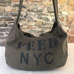 FEED NYC messenger bag